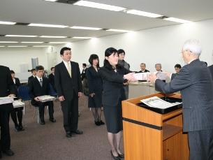 平成21年度ふくい優秀教職員表彰...