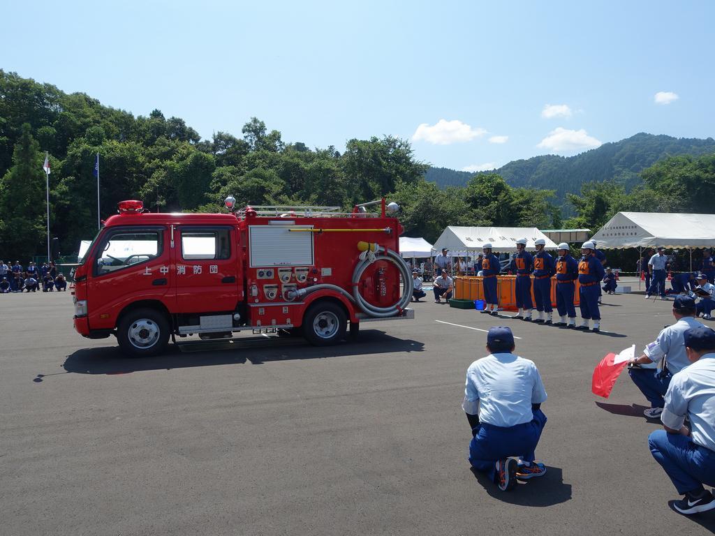 福井県消防操法大会